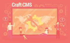 画像:Craft CMS デス